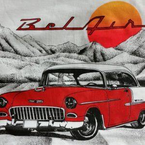 55 belair red