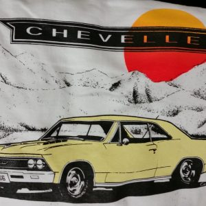 66 chevelle yellow